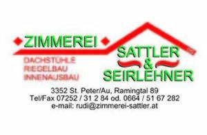 Zimmerei Sattler & Seirlehner